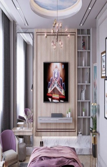 UltraModern bedroom design